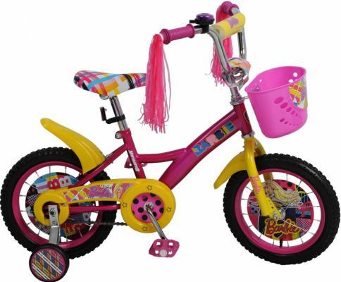 "Велосипед Навигатор BARBIE 14"" розовый KITE-тип ВН14150К"