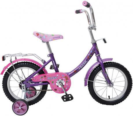 """Велосипед Navigator Basic 12B 14"""" фиолетовый ВН14060"""