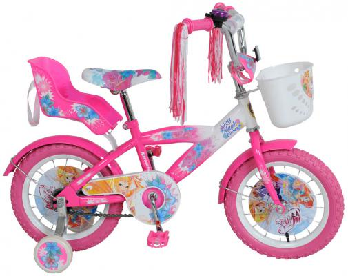 """Велосипед Navigator """"Winx"""" 14"""" бело-розовый ВН14132КК"""