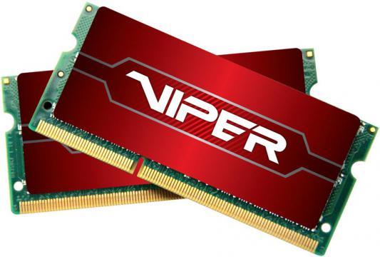 Оперативная память для ноутбуков SO-DDR4 32Gb (2x16Gb) PC4-17000 2133MHz DDR4 DIMM Patriot PV432G213C4SK