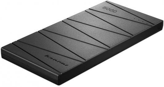 Портативное зарядное устройство Lenovo PB300 5000мАч черный GXV0J50548
