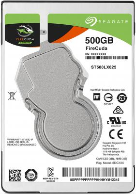Жесткий диск для ноутбука 2.5 500Gb 5400rpm 128Mb cache Seagate Firecuda SATAIII ST500LX025 жесткий для ноутбука