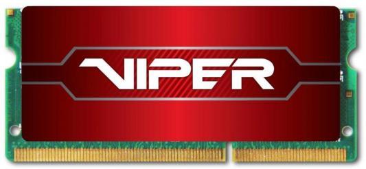 Оперативная память для ноутбуков SO-DDR4 8Gb PC4-19200 2400MHz DDR4 DIMM Patriot PV48G240C5S