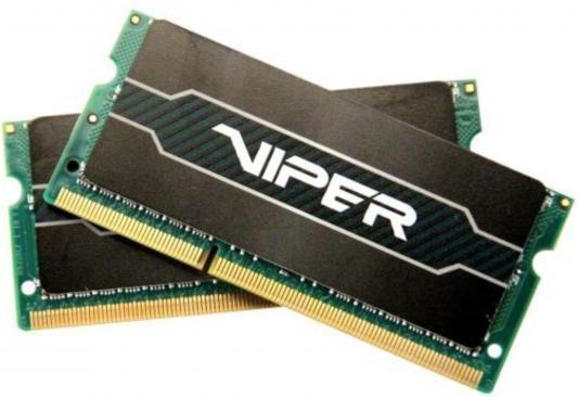 Оперативная память для ноутбуков SO-DDR3 16Gb (2x8Gb) PC12800 1600MHz Patriot PV316G160LC9SK