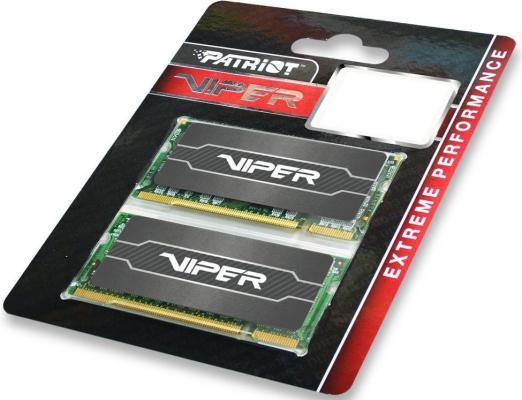 Оперативная память для ноутбуков SO-DDR3 16Gb (2x8Gb) PC12800 1600MHz Patriot PV316G160LC9SK от 123.ru