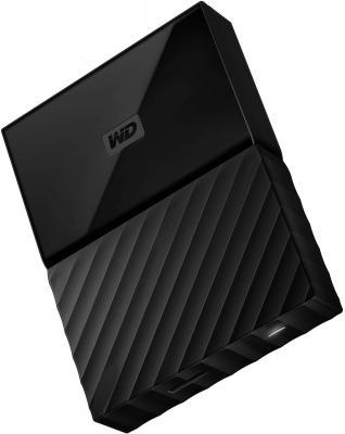 """Внешний жесткий диск 2.5"""" USB3.0 2 Tb Western Digital WDBUAX0020BBK-EEUE черный"""