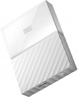 """Внешний жесткий диск 2.5"""" USB3.0 2 Tb Western Digital WDBUAX0020BWT-EEUE белый"""
