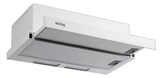 Вытяжка встраиваемая Korting KHP 5211 GW белый встраиваемая вытяжка korting khp 6211 b
