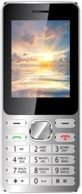 """Мобильный телефон Vertex D508 серебристый 2.4"""" D508SILBL"""