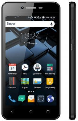 "Смартфон Vertex Impress Star черный 4.5"" 8 Гб Wi-Fi GPS 3G"