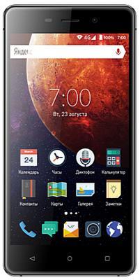 """Смартфон Vertex Impress Mars черный 5.5"""" 8 Гб LTE Wi-Fi GPS 3G VMRSBBR"""