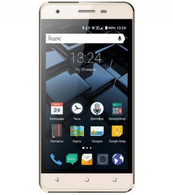 """Смартфон Vertex Impress Star золотистый 4.5"""" 8 Гб Wi-Fi GPS 3G VSTRGLD"""