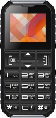 """Мобильный телефон Vertex C307 черный серебристый 1.77"""""""