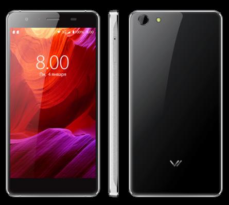"""Мобильный телефон Vertex Impress X черный 5"""" 8 Гб Wi-Fi GPS 3G"""