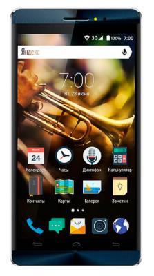 "Смартфон Vertex Impress Jazz синий 5"" 8 Гб Wi-Fi GPS 3G VJZZDBLSIL"