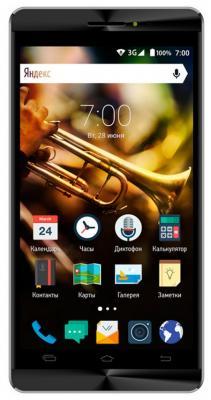 Смартфон Vertex Impress Jazz черный графит 5 8 Гб Wi-Fi GPS 3G VJZZBLKGRP смартфон vertex impress groove gold