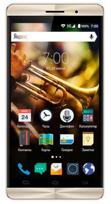 "Смартфон Vertex Impress Jazz золотистый 5"" 8 Гб Wi-Fi GPS 3G VJZZBLKGLD"