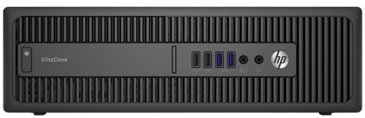 Системный блок HP EliteDesk 800 G2 SFF i5-6500 8Gb 256Gb SSD DVD-RW Win10Pro клавиатура мышь X6T42EA