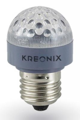 Лампа светодиодная E27 0.6W груша матовая STD-G35-0,6W-E27-FR/Blue 1209