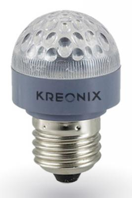 Лампа светодиодная E27 0.6W груша матовая STD-G35-0,6W-E27-FR/Yellow 1193