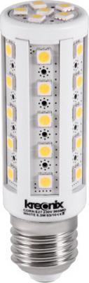Лампа светодиодная кукуруза Kreonix CORN E27 6.5W 6500K CORN-6,5W-E27-36SMD/W-DIM 0783 r7s 84 smd 5050 led 6000 6500k 85 265v highlight dimmable corn light