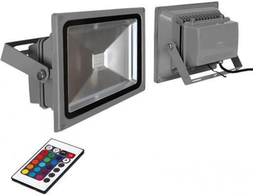 Прожектор светодиодный c пультом ДУ Kreonix 30W FL30-30W/RGB 4354