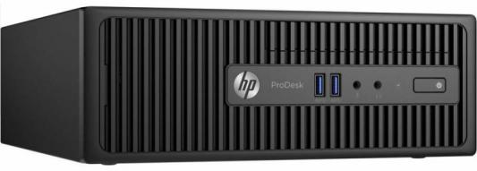 Системный блок HP ProDesk 400 G3 SFF i5-6500 4Gb 500Gb DVD-RW Win7Pro Win10Pro клавиатура мышь черный X3K61EA