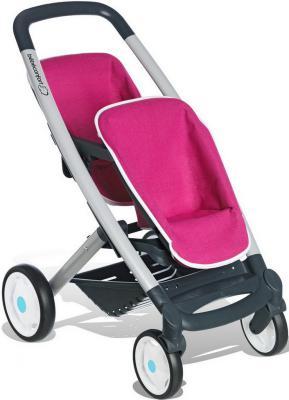 Прогулочная коляска для 2-х кукол Smoby Quinny 521590 smoby детская горка king size цвет красный