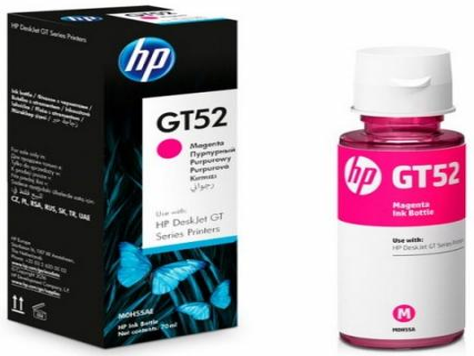 Чернила HP GT52 M0H55AE для HP DeskJet GT 5810 DeskJet GT 5820 пурпурный 8000стр цена и фото