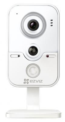 Камера IP EZVIZ C2W CMOS 1/4 1280 x 720 H.264 RJ-45 LAN Wi-Fi PoE белый CS-CV100-B0-31WPFR c101 0 3mp 1 4 cmos p2p surveillance ip network camera with wi fi tf