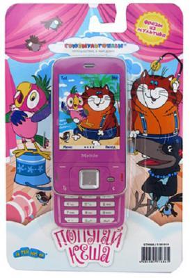 Телефон сотовый СОЮЗМУЛЬТФИЛЬМ со звуком, на батарейках, в блистере GT9068 сотовый