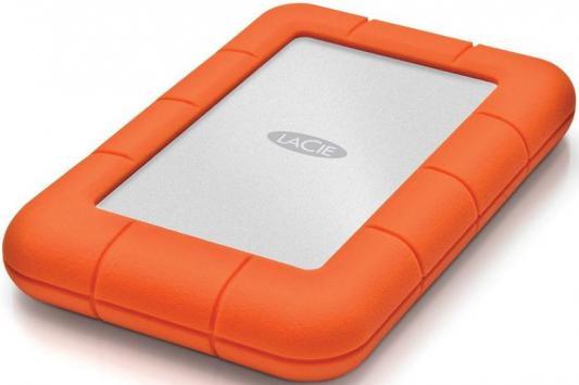 Купить Внешний жесткий диск 2.5 USB-C 1Tb Lacie Rugged Mini STFR1000400 оранжевый