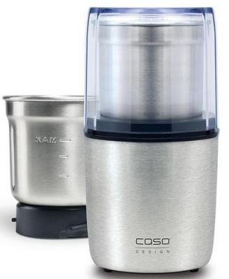 Кофемолка CASO Coffee & Kitchen Flavour 200 Вт серебристый 1831 кофемолка solis scala coffee grinder 100 вт серебристый