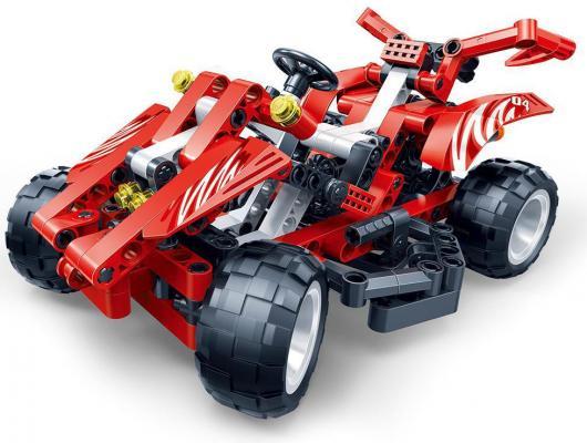 Конструктор BanBao Красная машина 250 элементов