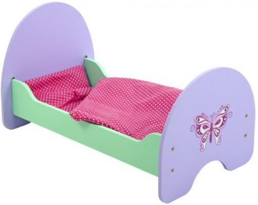 Кроватка для кукол Mary Poppins Бабочка 67117 mary poppins одежда для кукол кофта и брючки бабочка