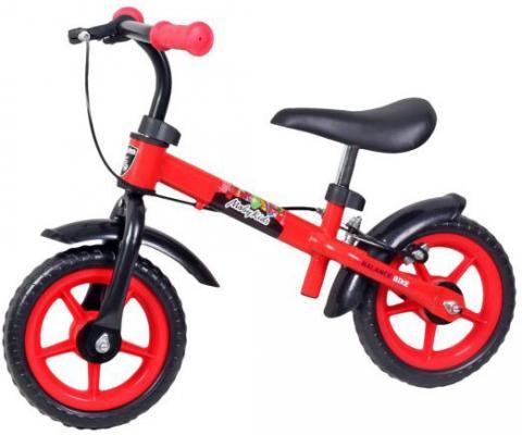 """Беговел Moby Kids 64960 10"""" черно-красный"""