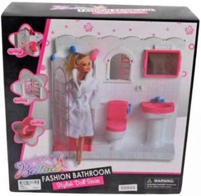 Набор Shantou Gepai Ванная комната с куклой 66844 ванная