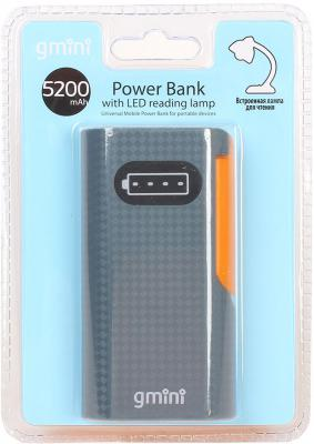 Портативное зарядное устройство Gmini Reading Lamp Series GM-PB052L 5200mAh
