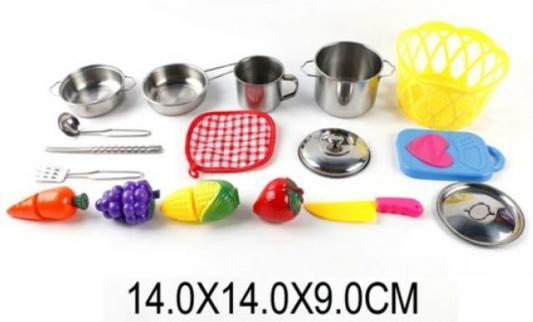 Набор для резки Shantou Gepai Набор мет.посуды с продуктами для резки