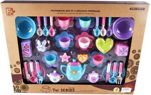 Набор посуды Shantou Gepai Ter Series, 37 предметов F7801