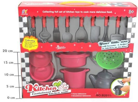 Набор посуды Shantou Gepai Kitchen B2011-3 набор посуды shantou gepai kitchen в тележке 6669 1