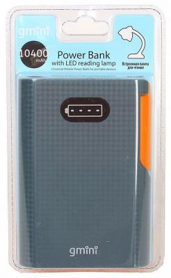 Портативное зарядное устройство Gmini Reading Lamp Series GM-PB104L 10400mAh