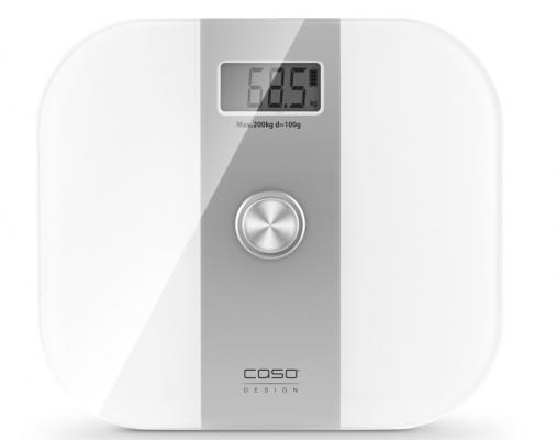 Весы напольные CASO Body Energy 3415 белый серебристый цена