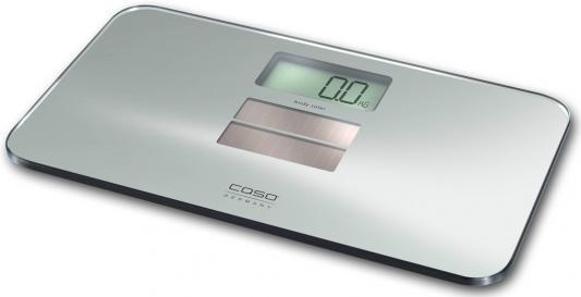 Весы напольные CASO Body Solar серебристый 3400 весы напольные caso body fit серебристый 3410