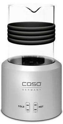 Вспениватель молока CASO Crema Glas серебристый