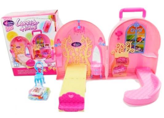 Дом для кукол Shantou Gepai Кукольный дом-чемоданчик 830