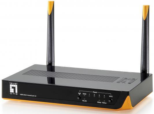 Маршрутизатор Level One WBR-6022 802.11n 300Mbps 2.4 ГГц черный