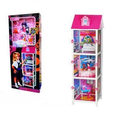 Купить Дом для кукол Shantou Gepai 66897 6927713281769, для девочки, Домики и аксессуары