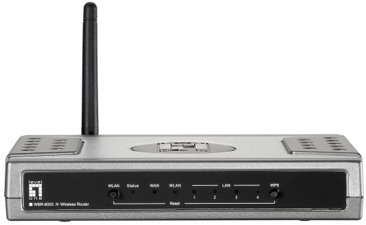 Маршрутизатор Level One WBR-6003 802.11n 150Mbps 2.4 ГГц серебристый