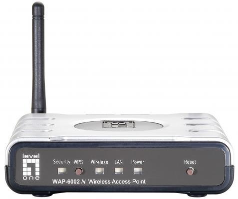 Маршрутизатор Level One WAP-6002 802.11n 150Mbps 2.4 ГГц серебристый